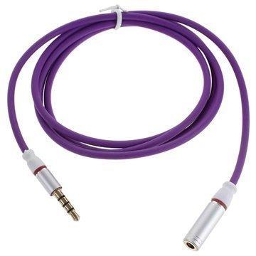3.5mm / 3.5mm Audio Jatkokaapeli Violetti