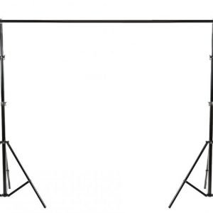 Ammattimainen taustakangassetti 300 x 374 cm