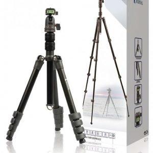 Ammattitason kolmijalka kameroille ja videokameroille 114 cm