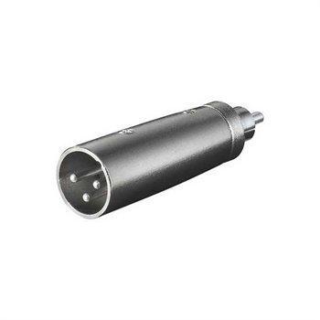 Audio Adapteri 3P XLR / RCA
