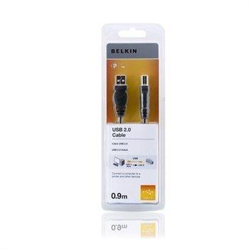 Belkin USB 2.0 A / B Korkeanopeuksinen Kaapeli 0