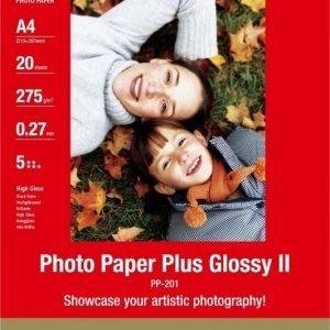 Canon A4 PP-201 Photo Paper Plus Glossy II 275g (20)