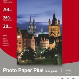 Canon A4 SG-201 Photo Plus Semi-gloss 260g (20)