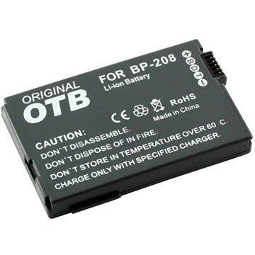 Canon BP-208 Videokamera Akku DC230 DC95 MVX460 700mAh