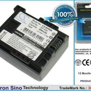 Canon BP-809 BP-809/B BP-809/S yhteensopiva akku 890 mAh