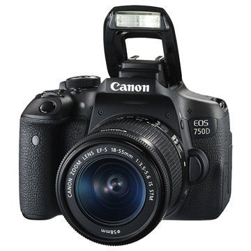 Canon EOS 750D Digital Camera Black