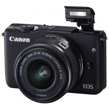Canon EOS M10 Digitaalikamera Musta