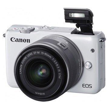 Canon EOS M10 Digitaalikamera Valkoinen