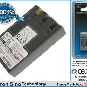 Canon NB-1L NB-1LH ER-D100 yhteensopiva akku 830 mAh
