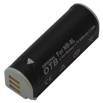 Canon NB-9L Battery PowerShot N Facebook ready ELPH 530 HS 600mAh