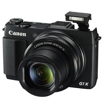 Canon PowerShot G1 X Mark II Digitaalikamera Musta