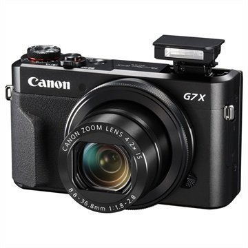 Canon PowerShot G7 X Mark II Digitaalikamera Musta