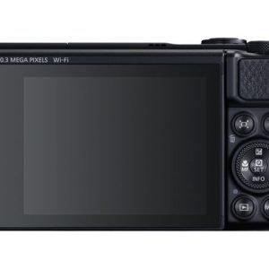 Canon Powershot Sx740 Digikamera Musta