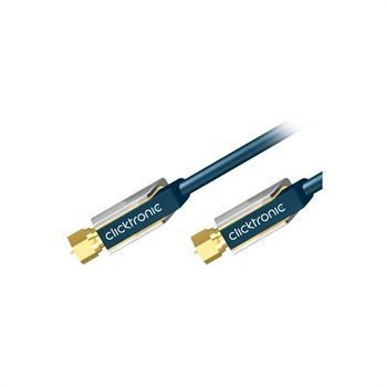 Clicktronic Antenna Cable F-plug 5m