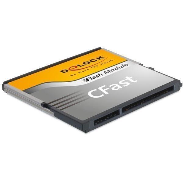 DeLOCK CFast2.0 Flash kortti 64GB 310/150mb/s na harmaa