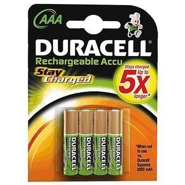 Duracell StayCharged Ladattavat AAA Paristot 800mAh