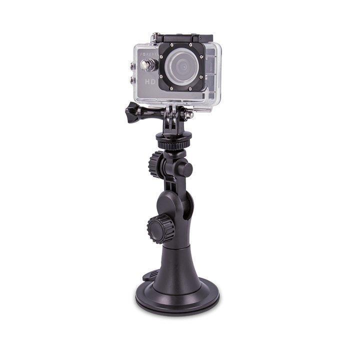 Forever GoPro tai muun yhteensopivan urheilukameran autoteline
