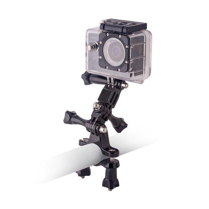 Forever GoPro tai muun yhteensopivan urheilukameran polkupyörän tankoteline.