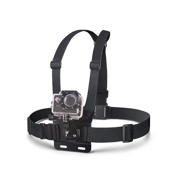 Forever GoPro tai muun yhteensopivan urheilukameran rintakiinnike
