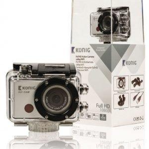 Full HD -action-kamera 1080p vedenpitävä kotelo WiFi
