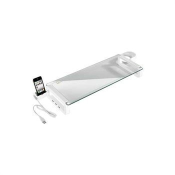 Goobay Desktop Stand & iPhone Holder White