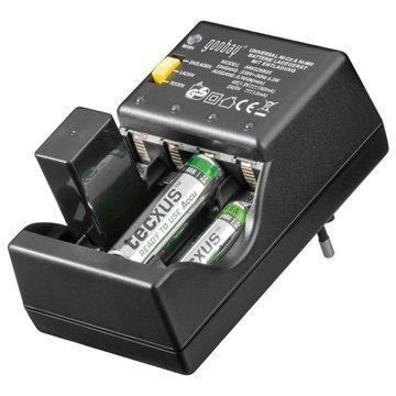 Goobay MW 3288 GS Yleiskäyttöinen Akkulaturi AA AAA 9V