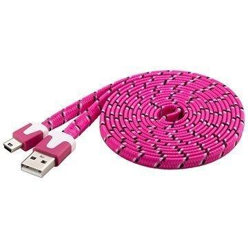 Goobay USB 2.0 / Mini-B Kaapeli Pinkki