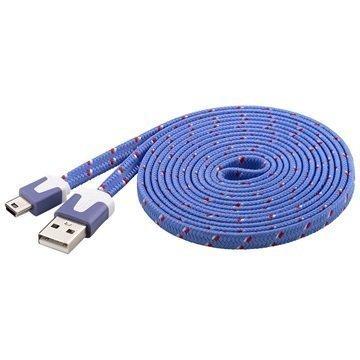 Goobay USB 2.0 / Mini-B Kaapeli Violetti