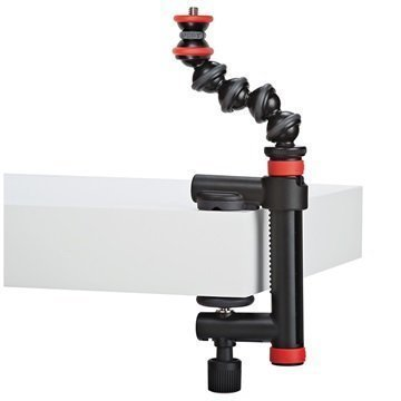Joby GorillaPod Action Clamp & GorillaPod Arm Black / Red