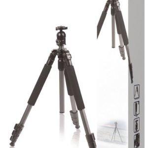 Kevyt kolmijalka kameroille ja videokameroille 131 5 cm