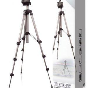 Kevyt kolmijalka kameroille ja videokameroille