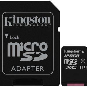 Kingston 128 Gt Micro Sd Xc Muistikortti