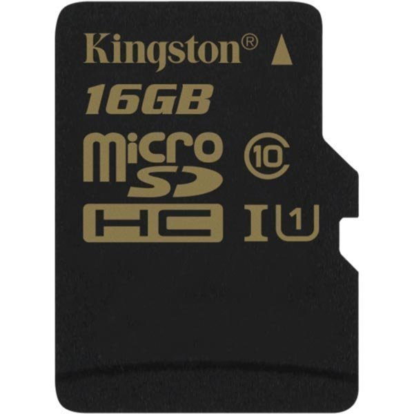 Kingston 16GB microSDHC CL10 UHS-I 90R/45W Single Pack w/o Adapter