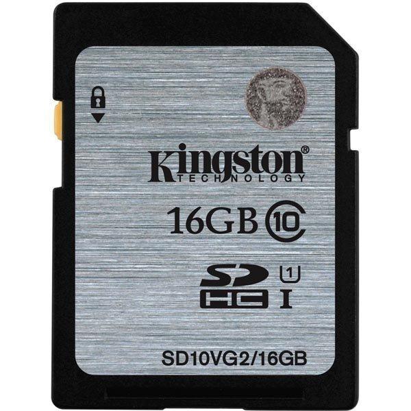 Kingston muistikortti SDHC 16GB UHS-I Class 10 45MB/s