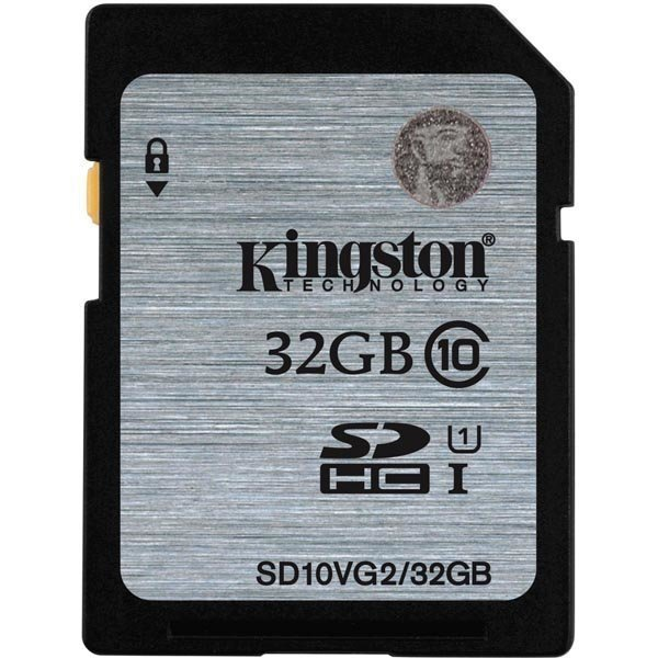Kingston muistikortti SDHC 32GB UHS-I Class 10 45MB/s