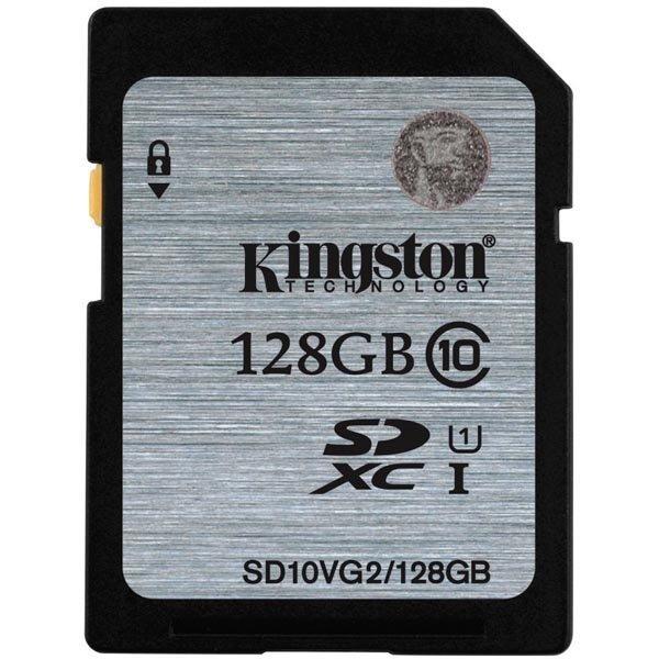 Kingston muistikortti SDXC 128GB UHS-I Class 10 45MB/s