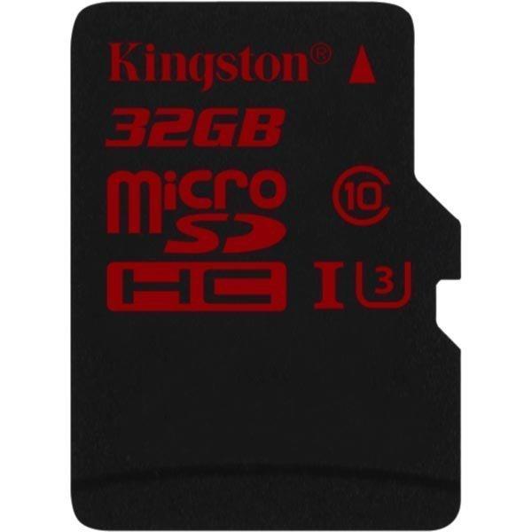 Kingston muistikortti microSDXC 32GB UHS-I Class 3 90/80Mbps