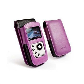 Kodak PlaySport Faux Leather Case Purple