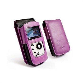 Kodak PlaySport Faux Leather Case Purple