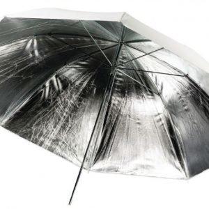 Kuvausvarjo hopeapintainen yksikerroksinen Ø 100 cm