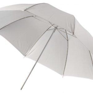 Kuvausvarjo läpikuultava valkoinen Ø 100 cm