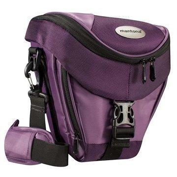 Mantona Premium Holster Kameralaukku Violetti