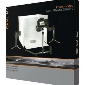 Mini-valokuvausstudio LED-valaisimet 40 x 40 x 40 cm