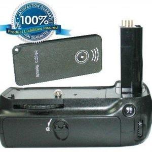 Nikon D80 D90 yhteensopiva akkukahva
