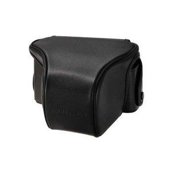 Olympus E-P3 Leather Case CS-29FBC Black