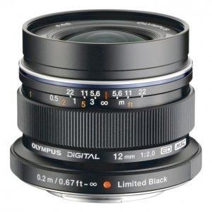 Olympus M-Zuiko Digital Ed 12mm Objektiivi