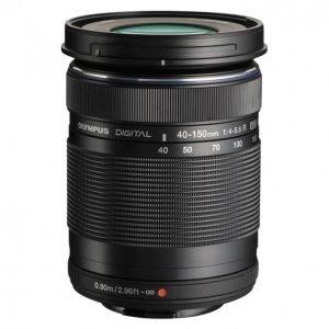 Olympus M-Zuiko Digital Ed 40-150mm Musta Objektiivi