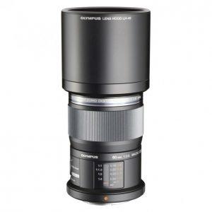Olympus M-Zuiko Digital Ed 60mm Musta Objektiivi