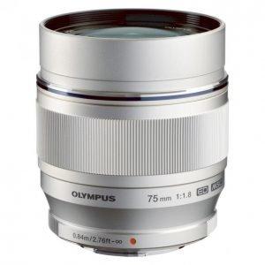 Olympus M-Zuiko Digital Ed 75mm Objektiivi