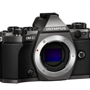 Olympus Om D E M5 Mark Ii Järjestelmäkamera Runko Musta + 12 40mm Pro Musta